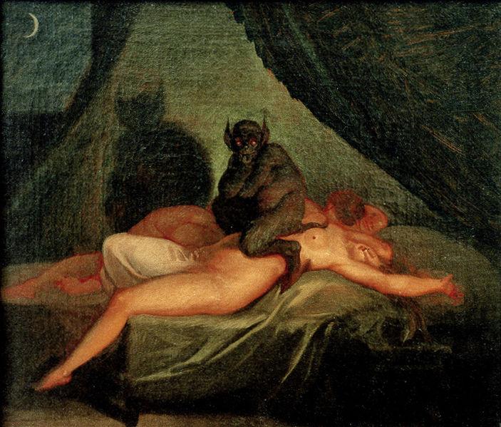 Секс с суккубом инкубом