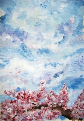 Весеннее небо фото a
