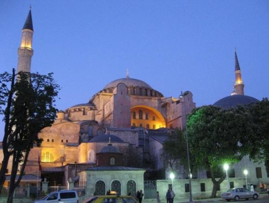храме софии константинополь