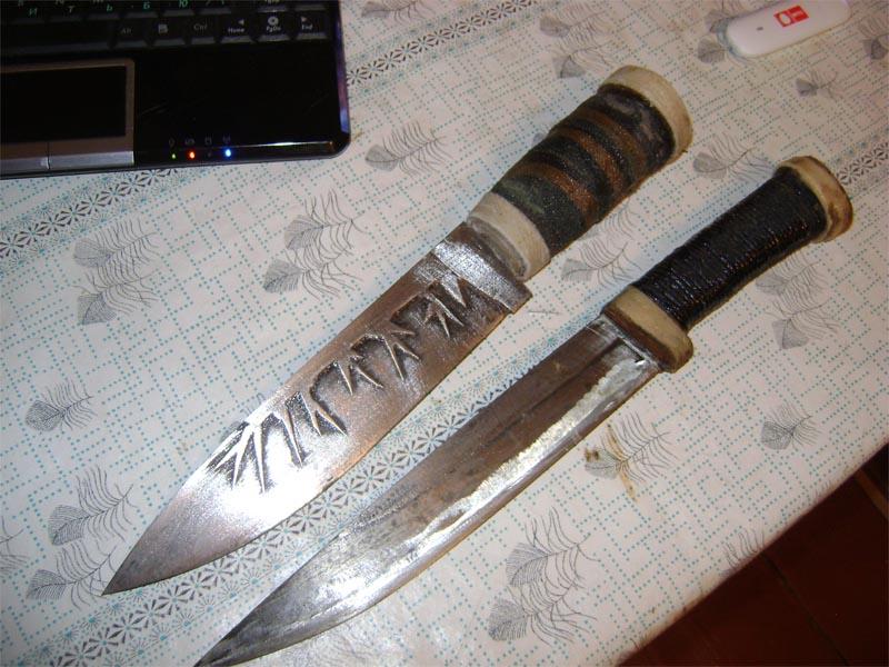 Фото охотничий нож своими руками