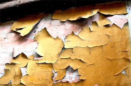 Как убрать слой краски с поверхности стены