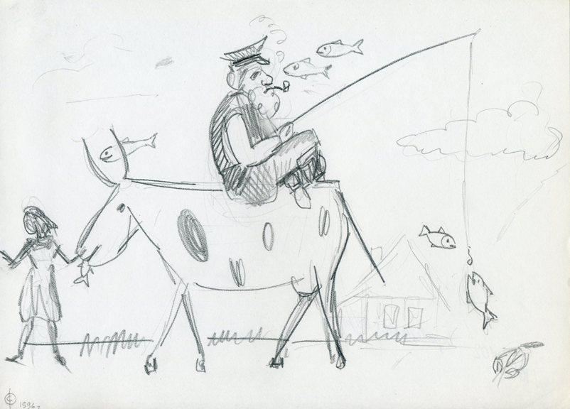 Рисунок мужика