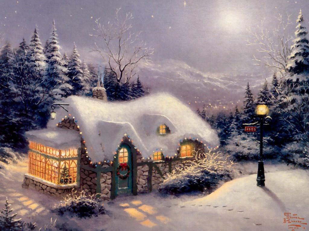 Открытки с зимой с новым годом, добрым утром осень