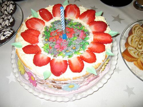 Торт Ульяне на 1 годик.