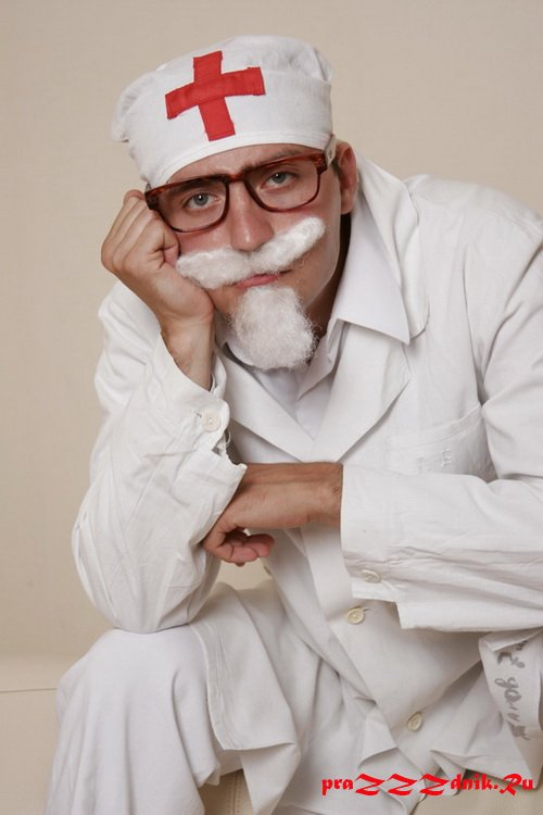 Костюм доктора айболита своими руками фото