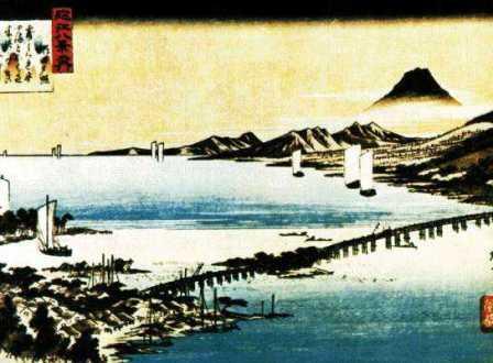 Я начну с японской живописи.  Японское искусство.
