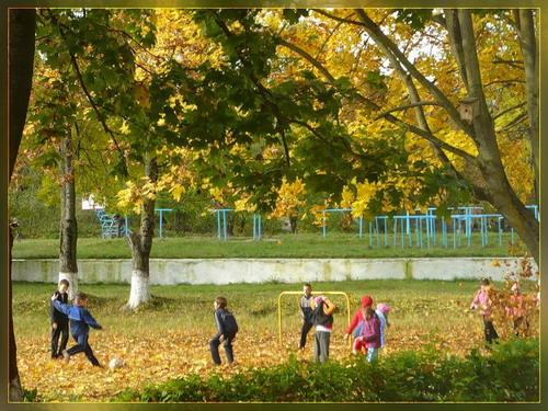 Золотая осень на школьном дворе. сказка для детей (Татьяна ...