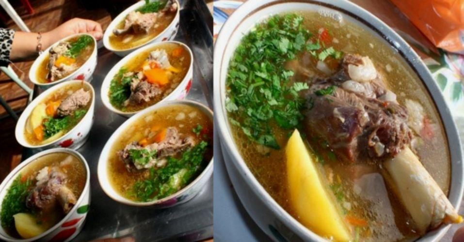 шурпа из баранины по узбекски рецепт ресторана