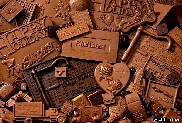 Шоколадные маньячелы, объединяйтесь.  World Chocolate Day.  Даешь, месячник шоколада!