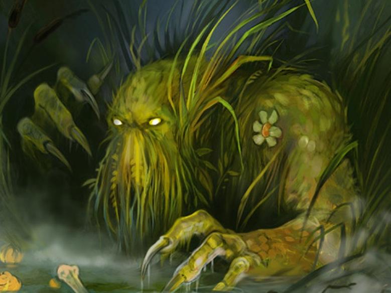 Только лучшие прикольные фоновые рисунки болото и лягушка и обои для...