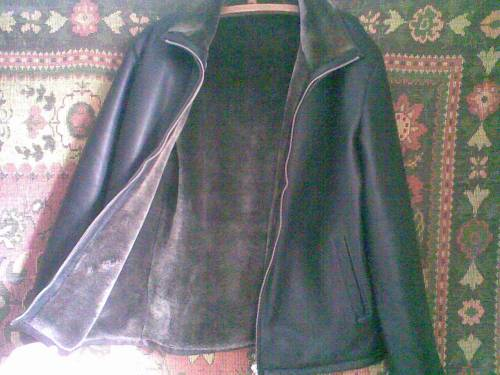 Мужская зимняя кожанная куртка на меху, метро К.Маркса.