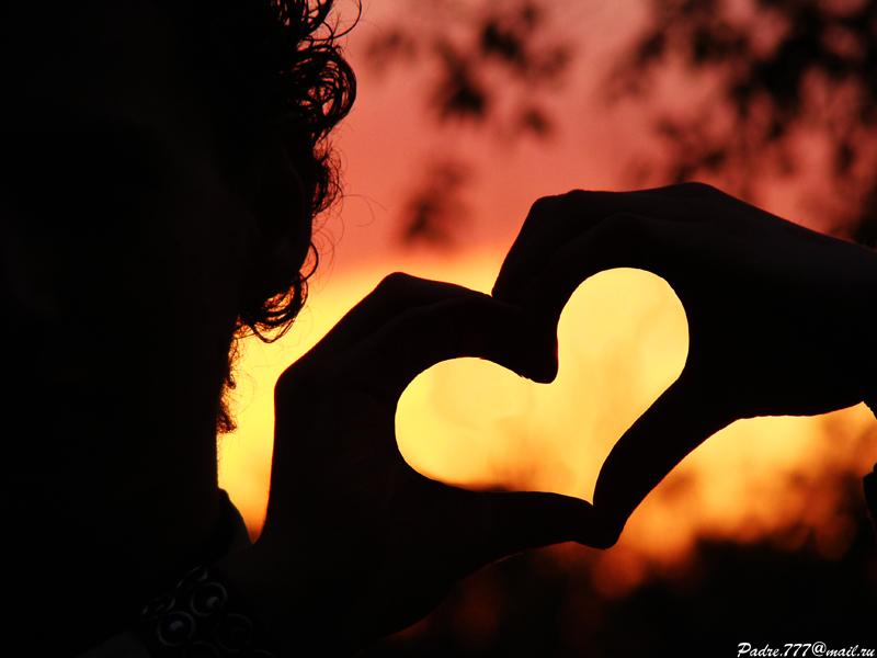 Любовь вонзилась прямо в сердце