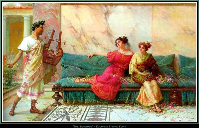 """Схема вышивки  """"Серенада """": таблица цветов."""