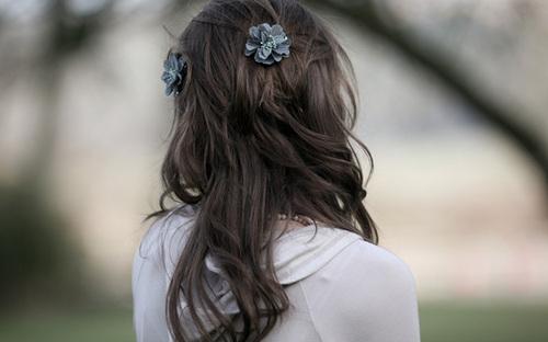 Длинные волосы со спины только у нас