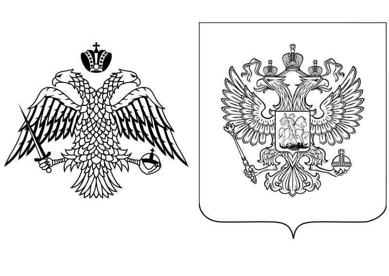 Пумой, флаг и герб россии картинки для раскрашивания