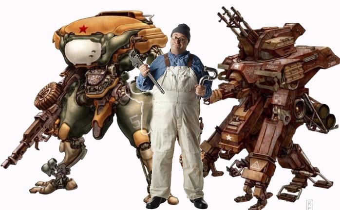 Директор мастерской роботов