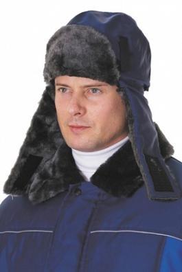Весенне-осенняя мужская шапка из тонкой шерсти - работа Олеси...