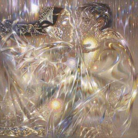 картина художника - А.Маранова Неземные миры земного художника
