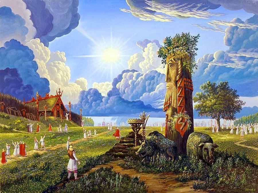 Картинки славянская культура