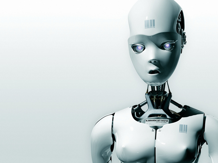фото женщина робот