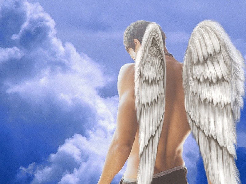 Картинки ангела с крыльями мужчины