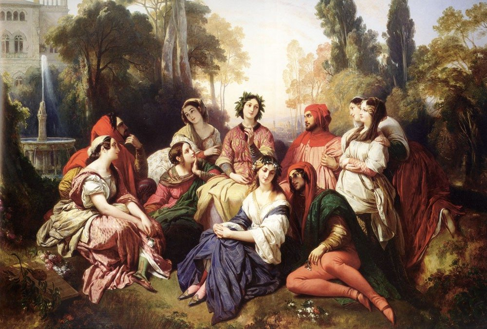 decameron by giovanni bocaccio Free summary and analysis of first day, introduction in giovanni boccaccio's decameron that won't make you snore we promise.