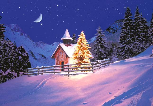 Картинки по запросу зимней ночи