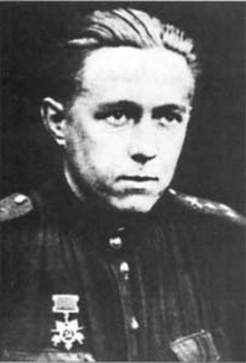 А. Солженицын на фронте