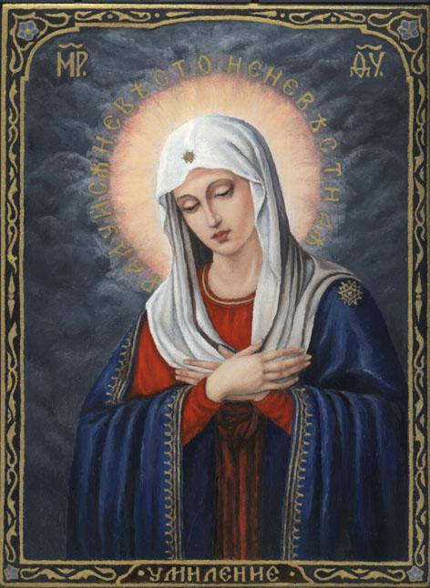 Использование икон в молитвах и духовных работах.