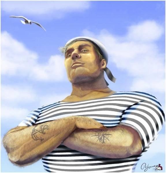 Смешные картинки морячок, открытки троицей поздравление