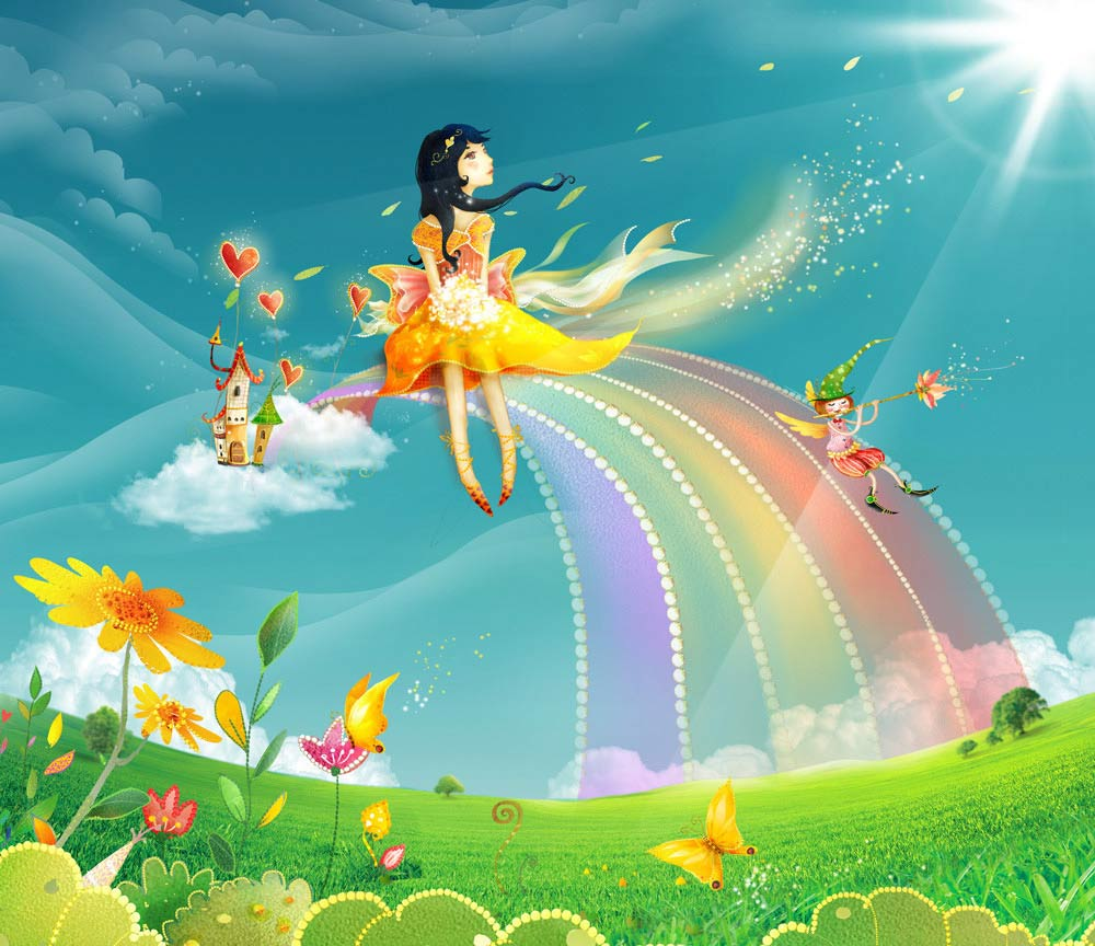 Яркие открытки счастья