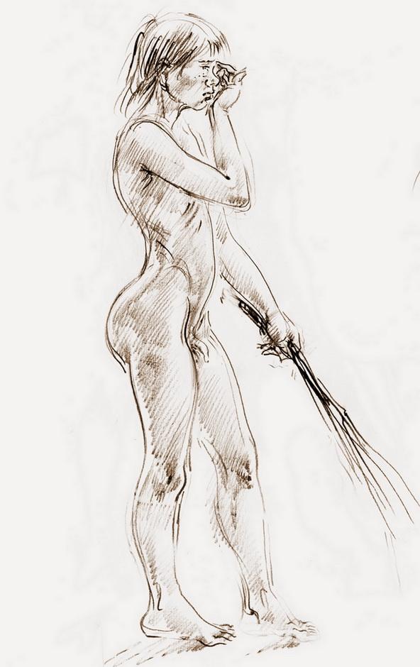 Рисунки о наказаниях девушек 107