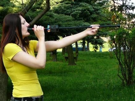 Как сделать трубку для стрельбы рябиной