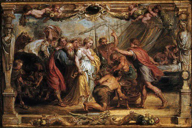 the incidents and events that provoked anger in achilles