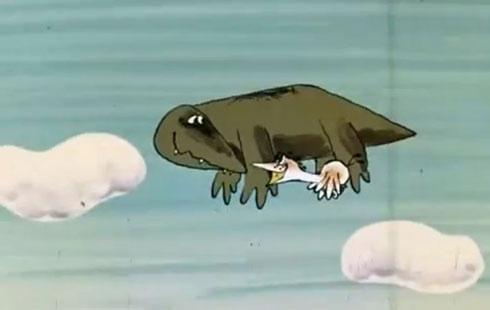 Картинки по запросу Крокодилы летают