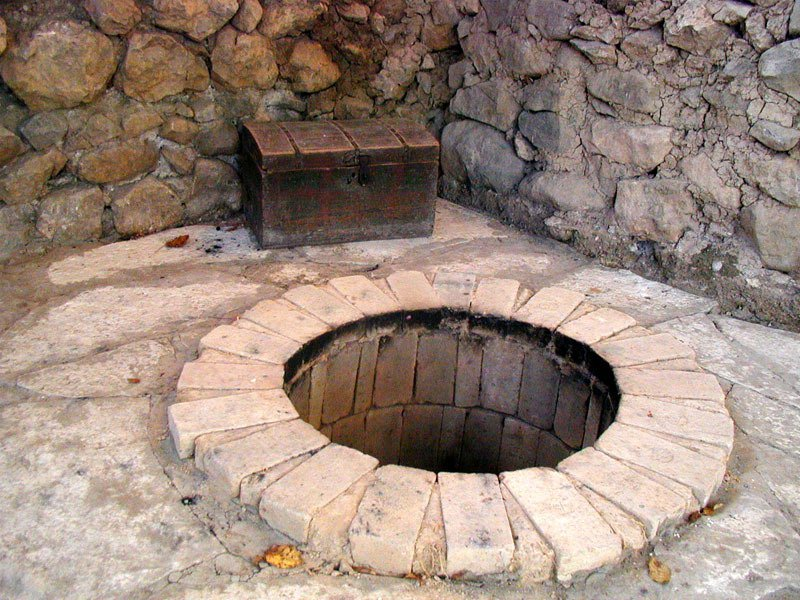 Тонир армянский из кирпича