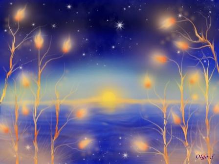 Рассвет, ночь, фэнтези