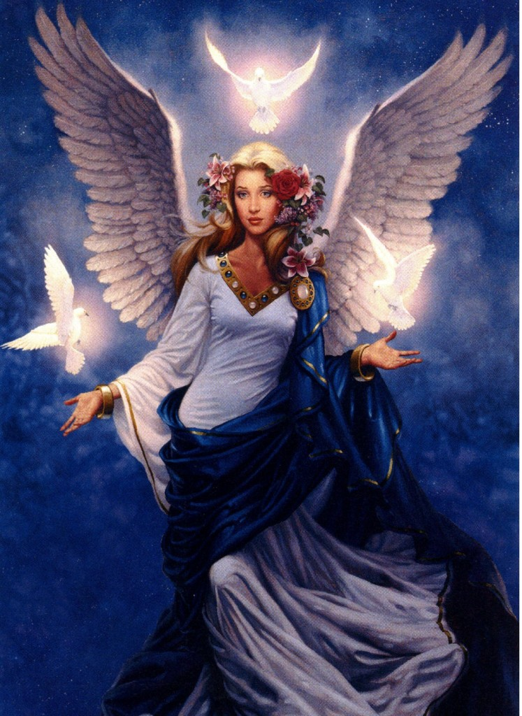 Simple pictures of guardian angels