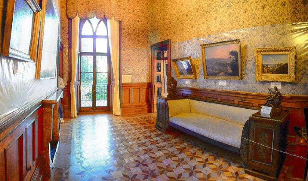 воронцовский дворец фото комнат внутри похвастала свежей