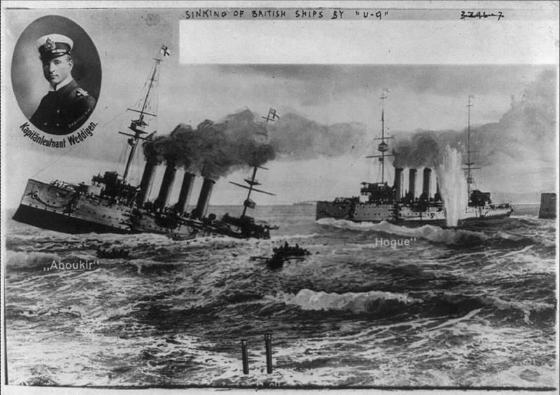 105 лет назад подлодка потопила сразу 3 крейсера. Итоги подводной войны 1914-45 гг.