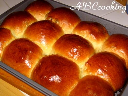 Пышные сдобные булочки пошаговый рецепт с 111