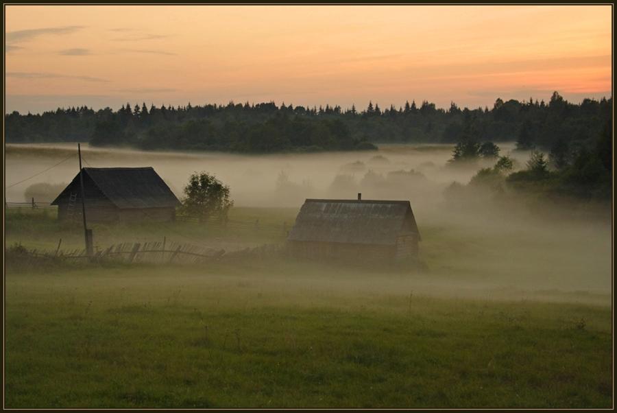 Стих утро в деревне