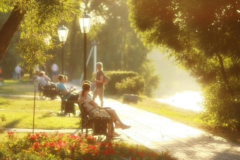 лето в городе фото