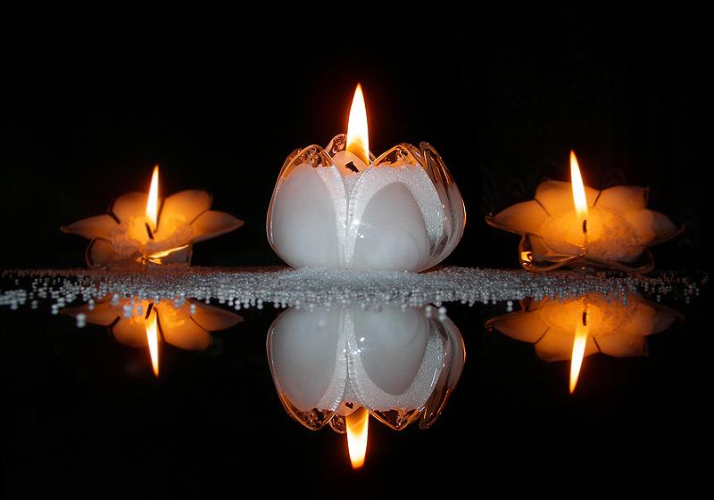 Слайд, открытки зажигаем свечи