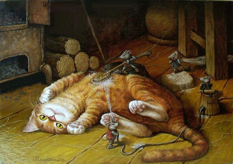 Сказки связанные с котом