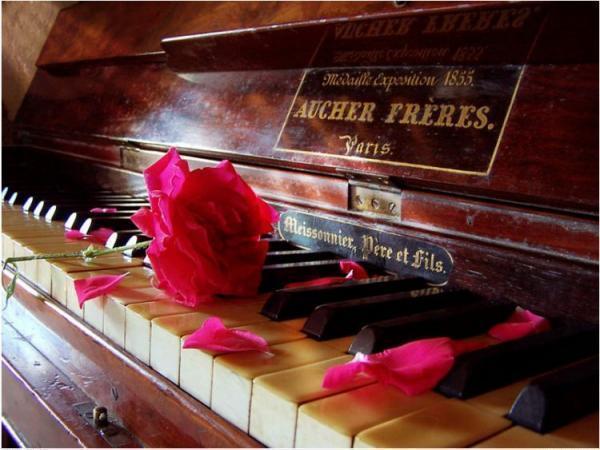 Открытка с днём рождения пианисту 8
