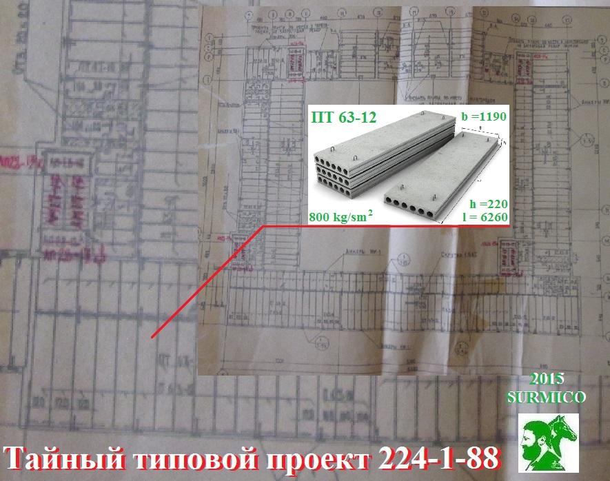 Типовой проект плита перекрытия плиты перекрытия иваново цены
