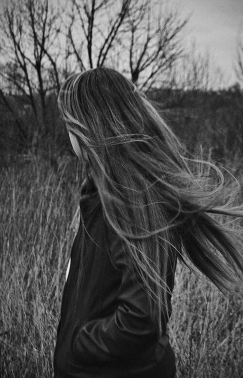 фото руссо-волосых девушек со спины