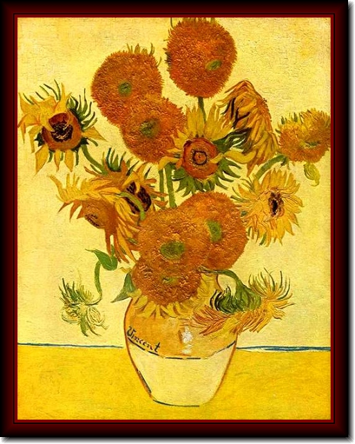 essay on van gogh sunflowers