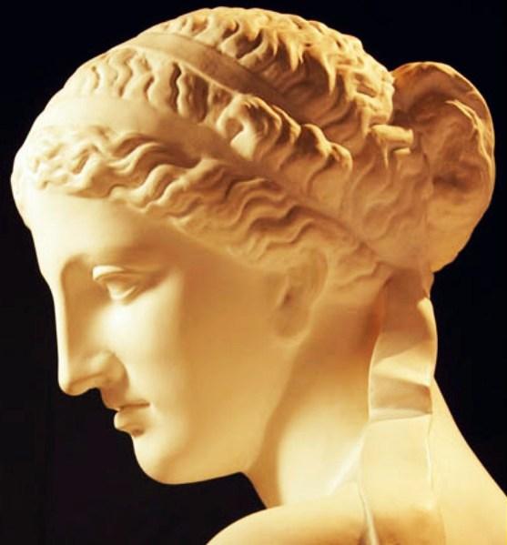 Греческий профиль лица женские